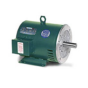 Leeson 140768.00, Premium Eff., 10 HP, 1765 RPM, 208-230/460V, 215TC, DP, C-Face Rigid