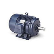 Leeson G150261.22, High Eff., 15 HP, 840 RPM, 208-230/460V, 286T, TEFC, Rigid