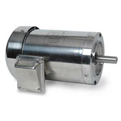 Leeson 191421.00, High Eff., 1 HP, 1140 RPM, 208-230/460V, 56C, TEFC, C-Face Footless