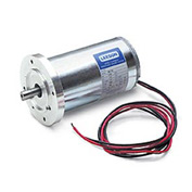 Leeson Motors Metric DC Motor-1/15HP, 24V, 3000RPM, IP44, B14