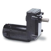 Leeson Motors Motor Gearmotor-Off-set Shaft, 51RPM, 1/8HP, TENV, 90V, DC