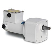 Leeson Motors Motor Gearmotor-Parallel Shaft, 500RPM, 1/4HP, TENV, 90V, DC, 25 Lb.In.