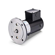 Leeson Motors Metric DC Motor-.18-.25 KW, 180V, 1800RPM, IP54, B5