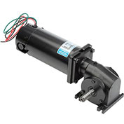 Leeson Motors Motor Gearmotor-Right-Angle Shaft / 83RPM / 1 / 4HP / TENV / 90V / DC