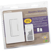 Lutron Dimmer And Pico Package, White