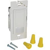Lutron Occupancy/Vacancy Sensor With Switch, 120V, 2 Amp, White