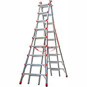 Little Giant Aluminum SkyScraper Telescoping Step Ladder, 17' Type 1A - 10110