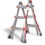 Little Giant Aluminum Super Duty Multi-Use Extension Ladder, 13' Type 1AA - 10401