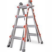 Little Giant Aluminum Super Duty Multi-Use Extension Ladder, 15' Type 1AA - 10402