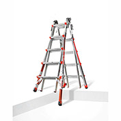 Little Giant Aluminum Revolution Multi-Use Extension Ladder W/ Ratchet Leveler, Type 1A - 12022-801