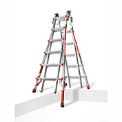 Little Giant Aluminum Revolution Multi-Use Extension Ladder W/ Ratchet Leveler, Type 1A - 12026-801