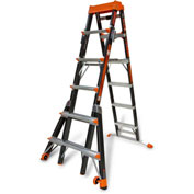 Little Giant Fiberglass SelectStep Step Ladder W/ Airdeck, 6-10' Type 1AA - 15131-920