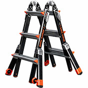 Little Giant Fiberglass Dark Horse Multi-Use Extension Ladder, 13' Type 1AA - 15143-001