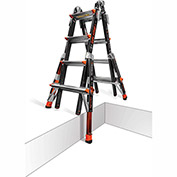 Little Giant Fiberglass Dark Horse Multi-Use Extension Ladder 17' Type 1A - 15147-859