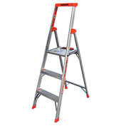 Little Giant® Flip-N-Lite Aluminum Platform Step Ladder - 5' - 15273-001