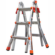 Little Giant Aluminum Velocity Multi-Use Extension Ladder, 13' Type 1A - 15413-001