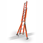 Little Giant SumoStance 3.0 Fiberglass Extension Ladder W/ Posts, 16' Type 1AA - 15670-259