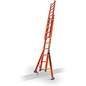 Little Giant SumoStance 3.0 Fiberglass Extension Ladder, 20' Type 1A - 15672-008