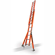 Little Giant SumoStance 3.0 Fiberglass Extension Ladder W/ C-Hook/V Rung, 20' Type 1AA - 15673-008