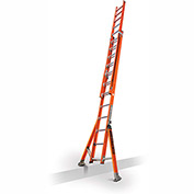 Little Giant SumoStance 3.0 Fiberglass Extension Ladder W/ Posts, 24' Type 1AA - 15678-259