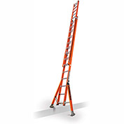 Little Giant SumoStance 3.0 Fiberglass Extension Ladder W/ Posts/Claw, 28' Type 1AA - 15682-258