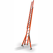 Little Giant SumoStance 3.0 Fiberglass Extension Ladder W/ Posts, 28' Type 1AA - 15682-259