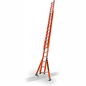 Little Giant SumoStance 3.0 Fiberglass Extension Ladder W/ C-Hook/V Rung, 32' Type 1AA - 15683-008