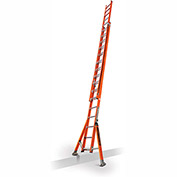 Little Giant SumoStance 3.0 Fiberglass Extension Ladder W/ Posts/Claw, 32' Type 1AA - 15684-258