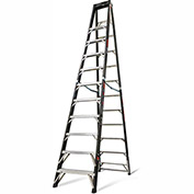 Little Giant Fiberglass SafeFrame Step Ladder, 12' Type 1AA - 15772-001