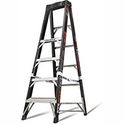Little Giant Fiberglass SafeFrame Step Ladder, 6' Type 1AA - 15776-001