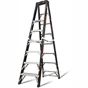 Little Giant Fiberglass SafeFrame Step Ladder, 8' Type 1AA - 15778-001
