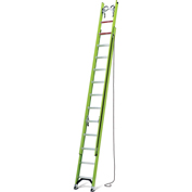 Little Giant 24' HyperLite 300 lb. Cap. Type IA Extension Ladder W/ Cable Hooks/V-Rung/Claw - 17324