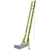 Little Giant 28' HyperLite SumoStance Type IAA Extension Ladder W/ Cable Hooks/V-Rung/Claw - 17628
