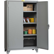 "Little Giant® 12 Gauge High Capacity Storage Cabinet, 3 Adjustable Shelves, 24""W x 60""D"
