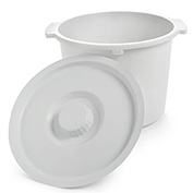 Invacare® 6317 Commode Pail and Lid, 12-Quart Capacity