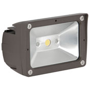 Luminance F7390-66 LED Outdoor Flood Light, 700 Lumens, 4000K, IP65 Rated, Threaded Knuckle Mount