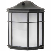 Luminance LED Mission Wall Lantern F9933-31, 9 Watt, 700 Lumens, CRI 80, Black Frame