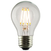 Luminance L7590 A17 Nostalgia LED Filament Bulb, Clear, E26 Base, 3.5 watts, 350 Lumens, 2700K