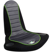 "Lumisource Boomchair® Stingray- 26""L x 22""W x 35""H, Black, Silver, Green"
