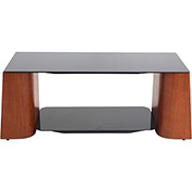 "Lumisource Ladder Coffee Table - 46-1/4""L x 17-3/4""W x 17-1/2""H, Wenge/Black"