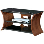 "Lumisource Metro Series 168 TV Stand - 16""L x 39-1/2""W x 20""H, Walnut Veneer"