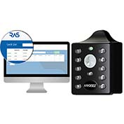 LockeyUSA Electronic Keypad Locker Lock with Remote Allocation System EC790BR Vertical Keypad, Black