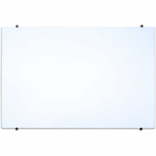 "Luxor® 40""W x 30""H Magnetic Glass Whiteboard, Wall-Mounted"