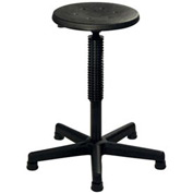 ShopSol Office Stool with 5-Legged Nylon Base