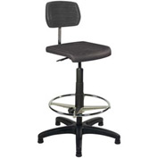 ShopSol Standard Operational Chair with Large Polyurethane Seat and Back