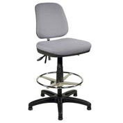 ShopSol Upholstered Operational Chair with Contoured Seat
