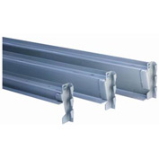 "Low Profile Beam, 96""Wx2""H, Gray (2) pcs"