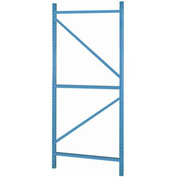 "Bulk Storage Rack Welded Upright, 24""Dx120""H, Gray"