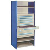 """Modular Drawer For 18""""D Shelving, 6""""H Putty"""