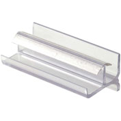 Prime-Line M 6144 Shower Door Bottom Guide, Clear
